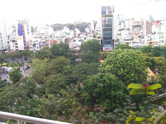 Liberty Hotel Saigon Parkview: 白天景觀