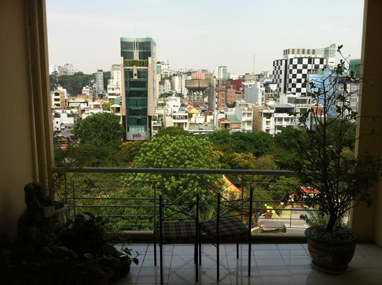 Liberty Hotel Saigon Parkview: 陽台