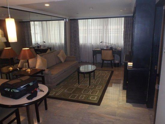 جراند بريزيدنت بانكوك: Livingroom 