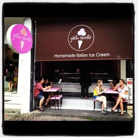 Gelato Secrets: amazing gelato in ubud