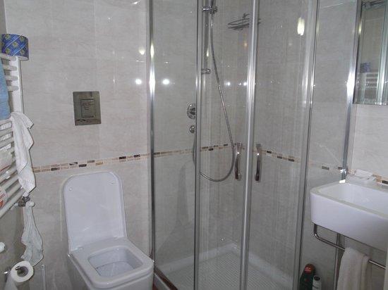 Lewisrooms: particolare del bagno