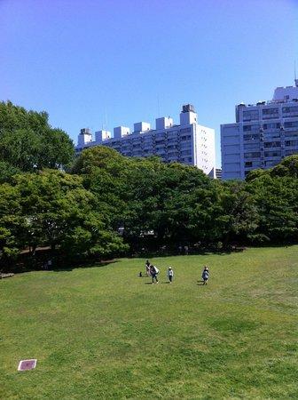 Kyu Iwasaki-tei Teien : 庭園