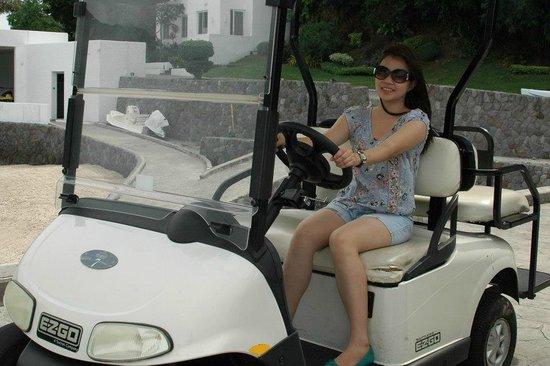 Bellarocca Island Resort and Spa: ride my car