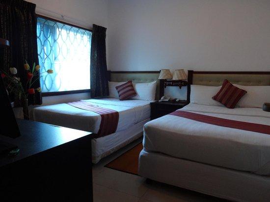 City Centre Hotel: デラックスルーム