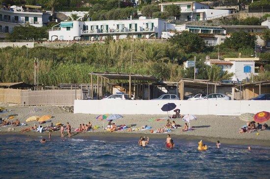 Casa del Sole: hotel visto dal mare