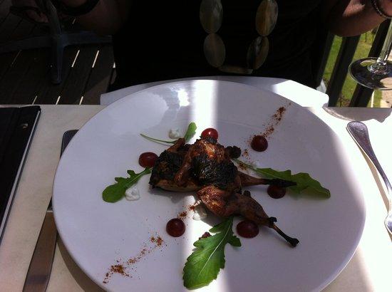 Wise Vineyard Restaurant: Quail (from specials list)