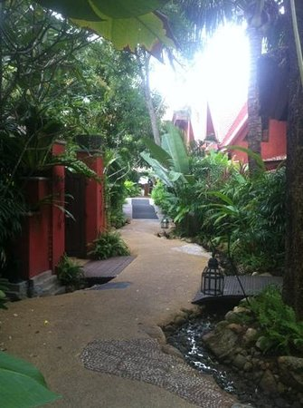 Zazen Boutique Resort & Spa: exterieur hotel