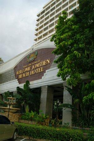 Welcome Jomtien Beach Hotel : отель