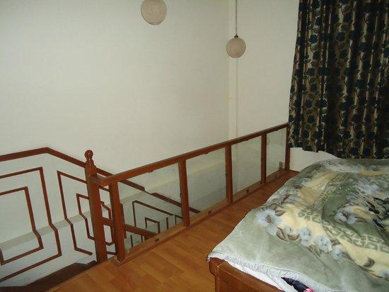Sparsh Resort: staircase