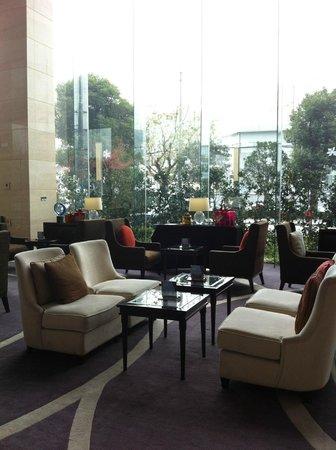 Sheraton Shanghai Hongkou Hotel: the lobby