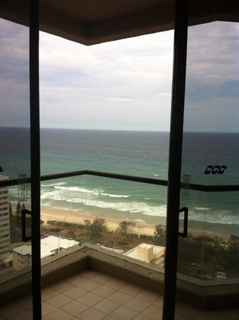 QT Gold Coast: Great view from our room