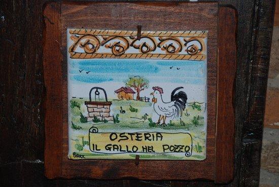 Osteria Il Gallo nel Pozzo: Il gallo nel Pozzo