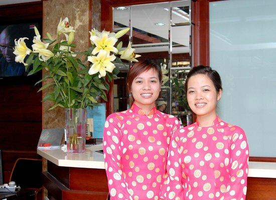 Bao Khanh Hotel: Reception
