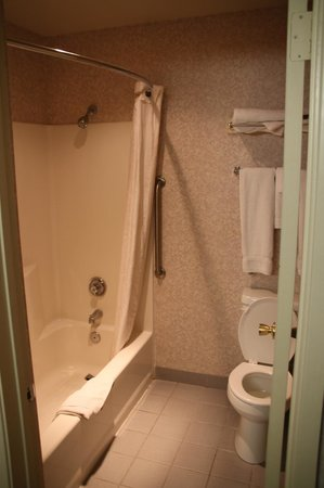 كومفورت إن يوسمايت إريا: La doccia