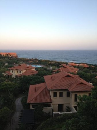 Fairmont Zimbali Resort: view from a suite