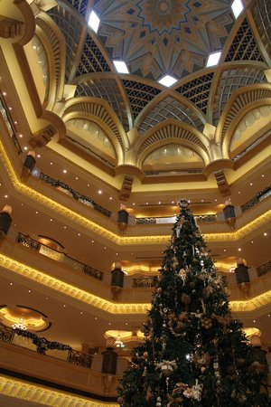 Emirates Palace: Christmas Tree