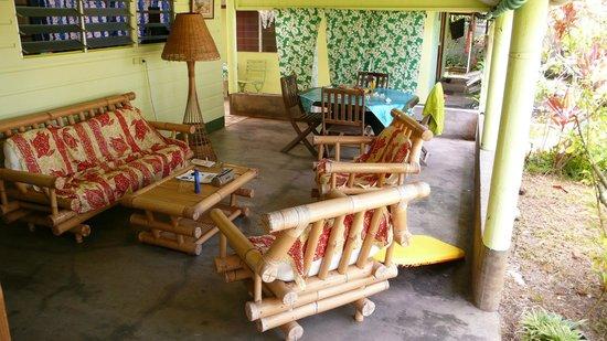 Otaha Lodge : The terrace