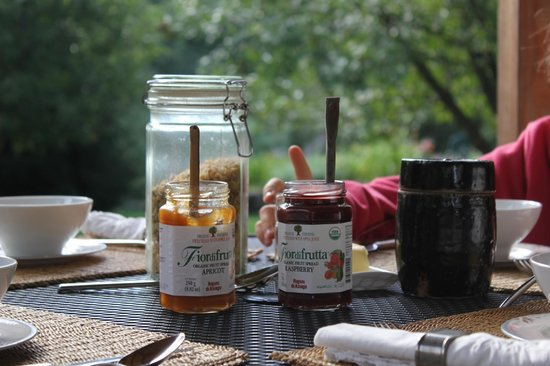 On the Creek Bed & Breakfast: organic jam