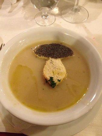 Hotel Iris: zuppa di funghi