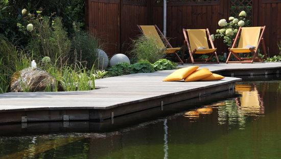 Suiten-Hotel mare: Naturfreibad mit Wellnessgarten