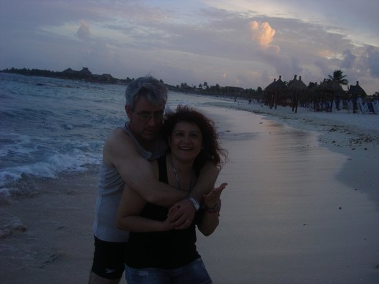 Grand Bahia Principe Tulum: Primer día apenas llegamos que hermoso..!!!!