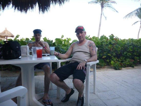 Grand Bahia Principe Tulum: La confitería de la playa,  es muy agradable!!