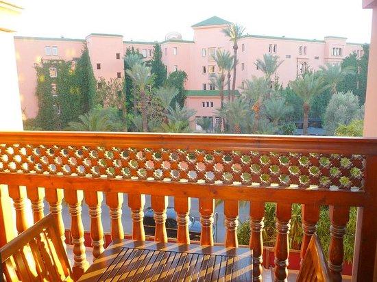 Hivernage Hotel & Spa: balcon