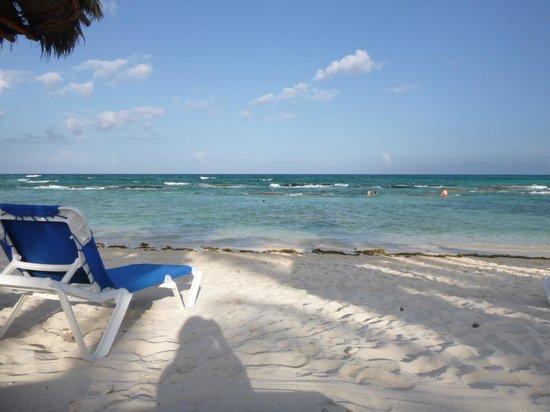Grand Bahia Principe Tulum: La playa, es imagen  la amamos, queremos volver!!!
