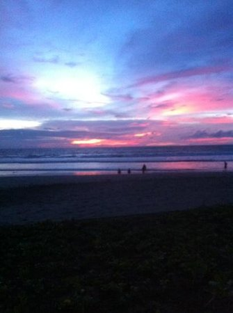 The Oberoi Bali: beautiful sunsets at oberoi