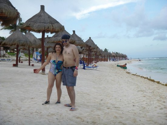 Grand Bahia Principe Tulum: Dan ganas de quedarse todo el día..!!