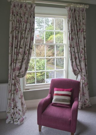 Bryn Mair House : Comfy chair and other window