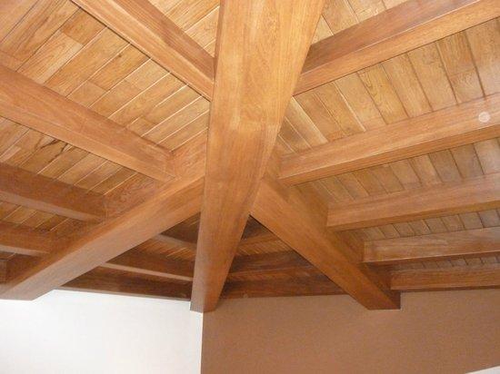 Hotel & Spa Villa de Mestas: techo de la habitación