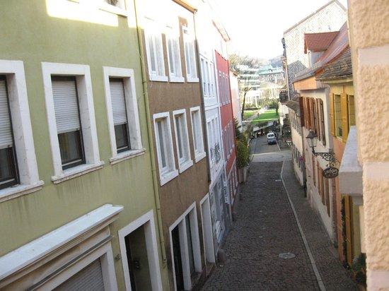 Rathausglöckel : vue de la chambre vers les thermes