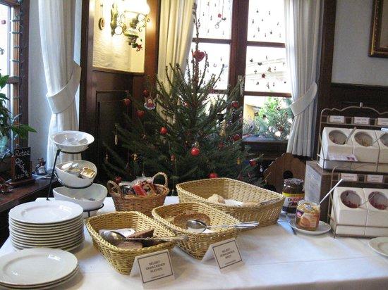 Rathausglöckel : buffet du petit déjeuner