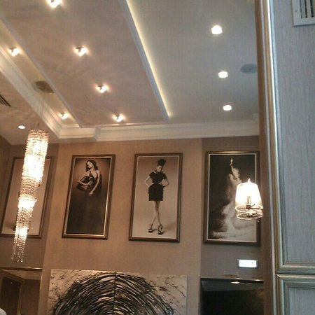 Evropa Garni Hotel : Hotel Cafe