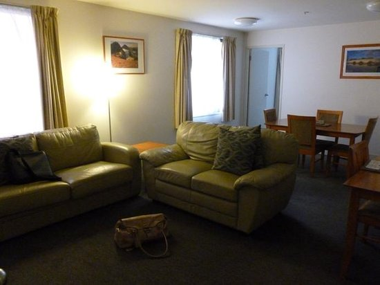 The Old Woolstore Apartment Hotel : Lounge at Old Woolstore
