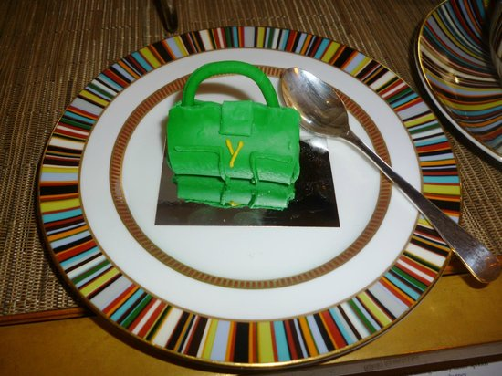 The Berkeley: Prêt-à-Portea YSL inspired cake bag