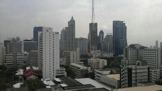 Novotel Bangkok on Siam Square: View from our room