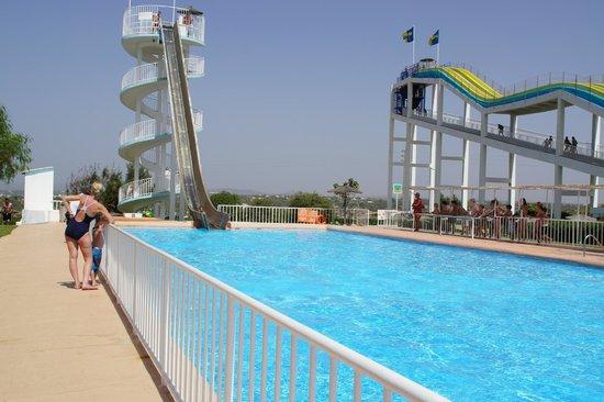 Aqualand Algarve: Scariest slides