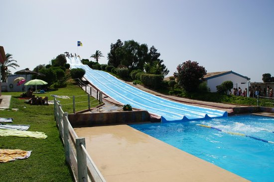 Aqualand Algarve: Soft slides