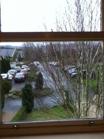 BrookLodge & Macreddin Village: view from bedroom window
