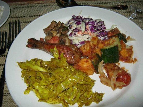 Cocobay Resort: Thursday evening buffet