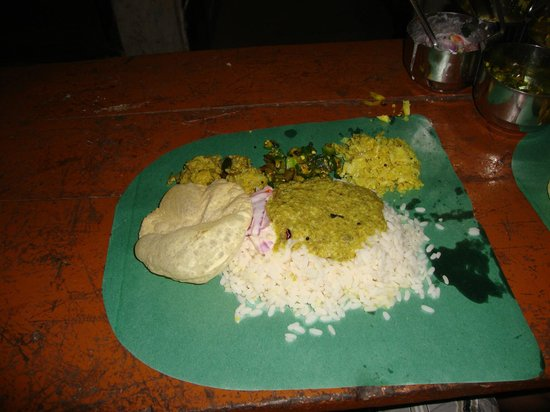 Mummy Bamboo House: Meals we cooked with Rani