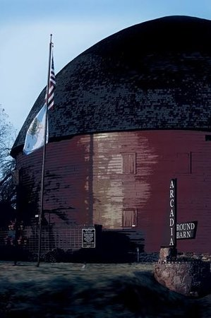 The Old Round Barn: The Round Barn on the Outside