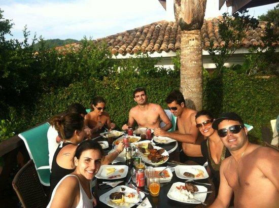 Costa Do Sol Boutique Hotel: picanha na piscina