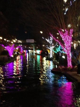 Bricktown Water Taxi: Beautiful Christmas lights off the river - Beautiful Christmas Lights Off The River - Picture Of Bricktown