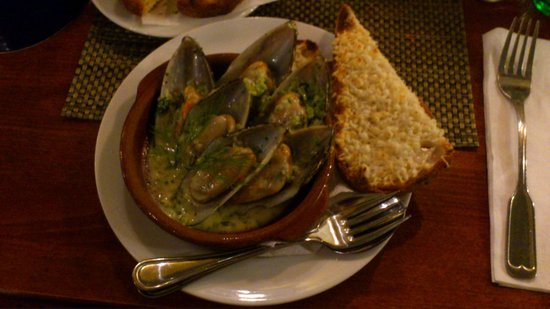 Restaurang Samborombon: Heavenly mussels!