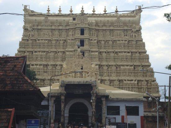 Mummy Bamboo House: Temple @ trivandrum