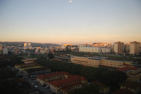 Holiday Inn Lisbon - Continental: view from the 13th floor