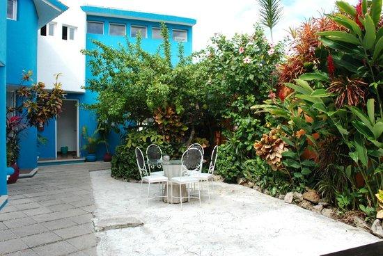Villas Las Anclas: Courtyard
